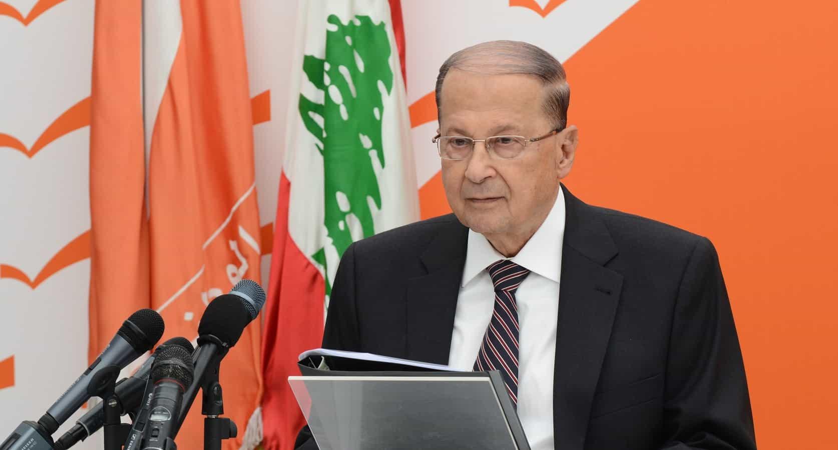 Prezydent Libanu
