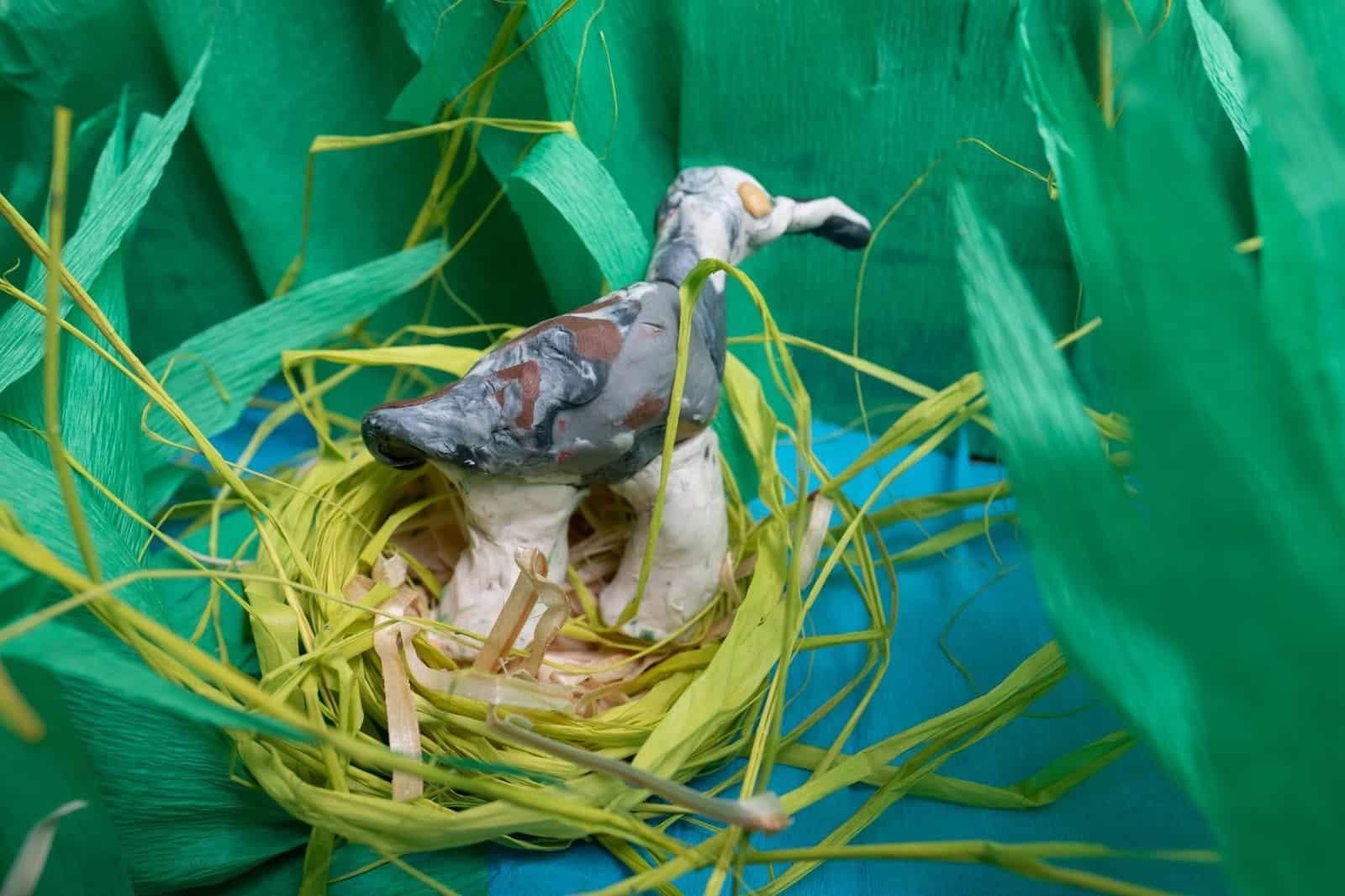 Prace dzieci w akcji Łączą Nas Ptaki